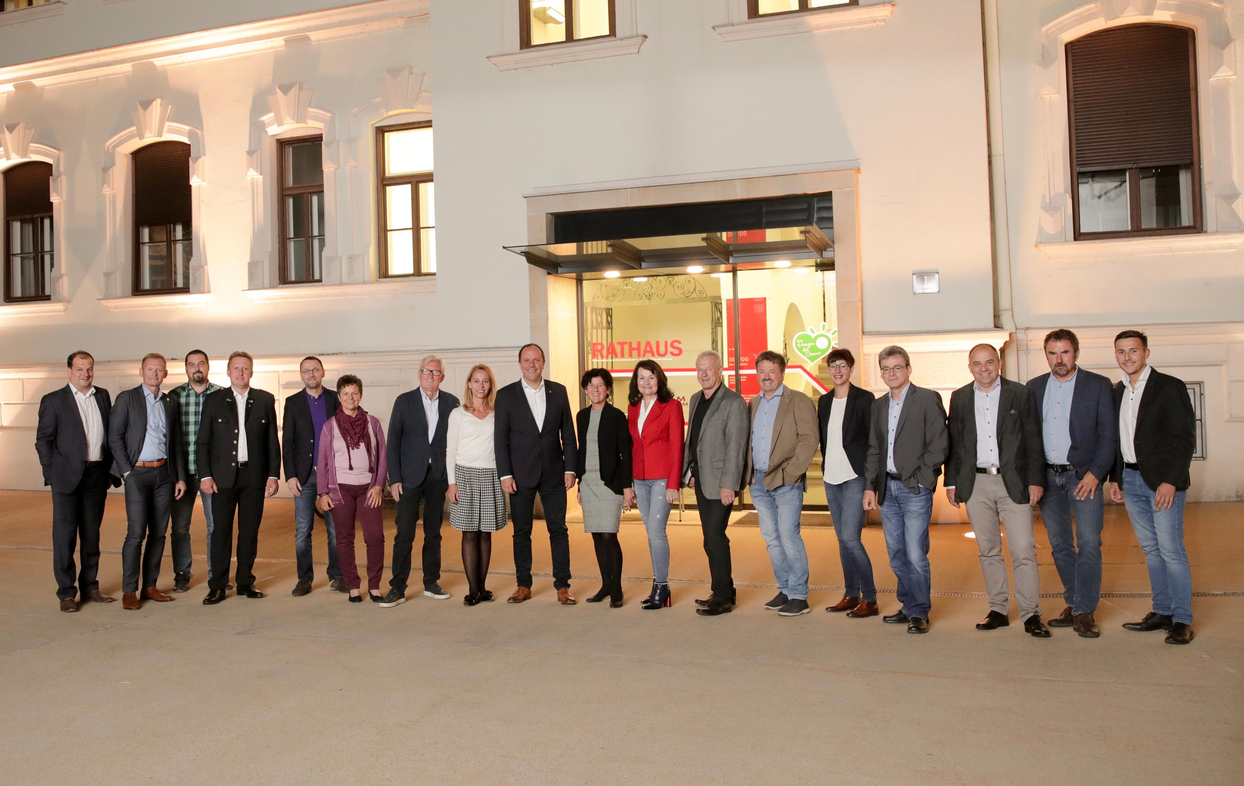 ÖVP Gemeinderatsteam 2018