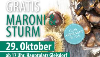 Maronibraten 29.Oktober 2019 am Gleisdorfer Hauptplatz
