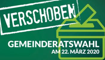 Gemeinderatswahlen in der Steiermark verschoben!