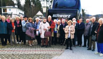 Seniorenbund Gleisdorf besucht Weizer Schafbauern