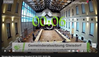 Gemeinderatssitzung in Hybrid – zum Nachschauen für jede/n Interessierte/n!